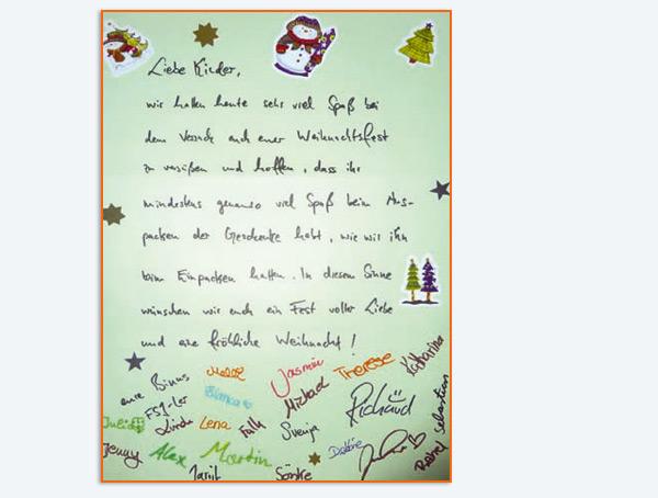 Auch im DRK-Kindergarten in Suchsdorf wurde fleißig gesammelt. Und eine Ausbildungs-Gärtnerei stiftete 200 Weihnachtssterne