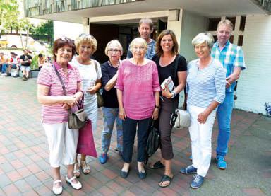 TafelAKTIV 2014-03: Besuch vom Ehrenamtsbüro