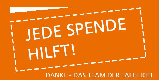 Störer Homepage Jede Spende hilft