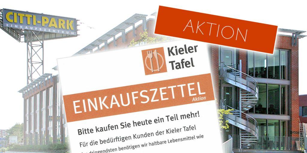 Kieler Tafel CITTI Aktion Ein Teil mehr am 26.11.2016